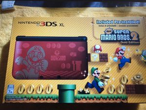 3DS XL Mario Limited Edition for Sale in Amarillo, TX