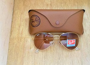 Brand New Authentic RayBan Aviator Sunglasses 100% UV Protectant for Sale in Houston, TX