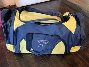 St. Louis Blues Duffle bag for Sale in Saint Charles, MO