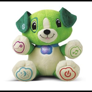 Leapfrog, My Pal Scout, Plush Puppy, Baby Learning Toy for Sale in Westminster, CA