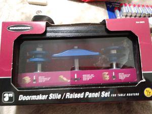 Doormaker stile/raised panel set for Sale in Pico Rivera, CA