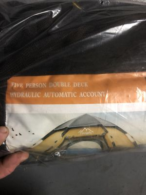 Toogh 5 person double deck tent for Sale in Port St. Lucie, FL