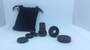 0.45X Wide Angle + Macro Lens + Fisheye Lens set for smartphones for Sale in Lynchburg, VA
