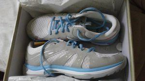 Abeo Aero shoes 9.5 med. White/turquoise for Sale for sale  Pleasanton, CA