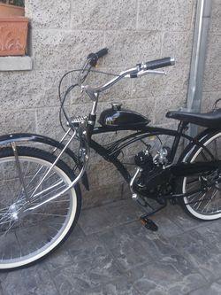"New custom 26"" Lowrider Motorized Bike 50cc for Sale in Redondo Beach,  CA"