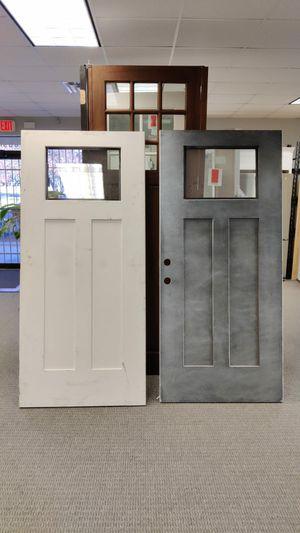 Exterior door with lite 36x80 for Sale in Dallas, TX
