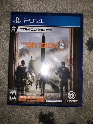 Ps4 Tom Clancy division 2 for Sale in Waggaman, LA