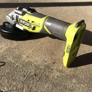 Ryobi brushless Cordless Angle grinder New Make An Offer for Sale in Chico, CA
