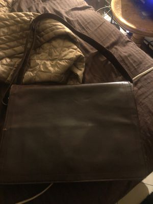 Leather laptop case bag for Sale in Spring Valley, NV