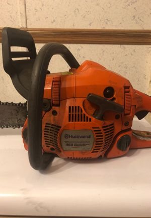 Chainsaw husqvarna 450 rancher x-tone for Sale in East Windsor, CT