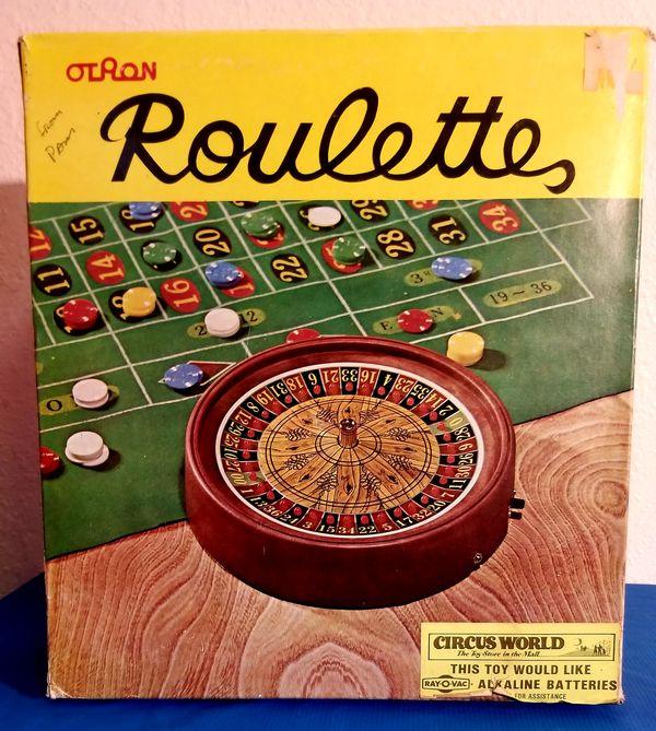 Vintage Roulette Wheel Game