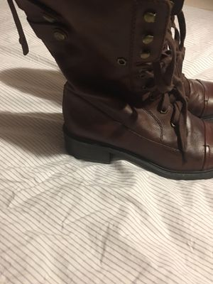 Leather Sam Edelman boots for Sale in Fort Worth, TX
