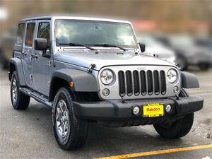 2016 Jeep Wrangler Unlimited for Sale in Kirkland, WA