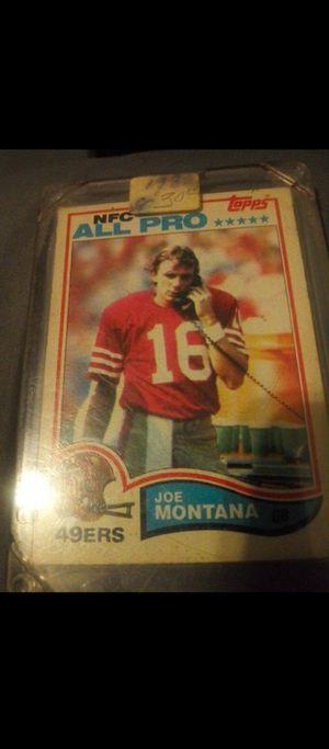 John elway rookie card joe Montana walter payton for Sale in Houston, TX