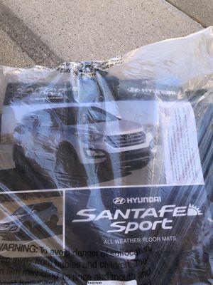 NEW OEM 2013-2018 Hyundai Santa Fe All Weather Floormats BLACK 4Z013 ADU01 for Sale in Scottsdale, AZ