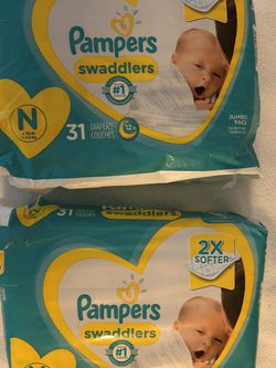 Diapers ( Pampers Swaddlers) for Sale in Portland,  OR