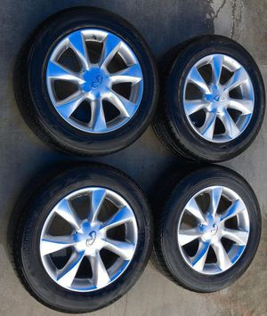 """2008-2015 INFINITI EX35 EX37 QX50 17"""" INCH WHEELS RIMS WITH TIRE for Sale in Fort Lauderdale, FL"""