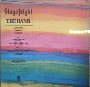The Band - Stage Fright for Sale in Salisbury, MD