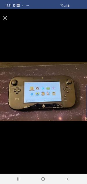 Wii U Gamepad Only Works Great for Sale in Sterling, VA