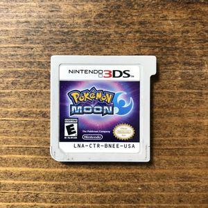Pokémon Moon Nintendo 3DS XL for Sale in Mesa, AZ