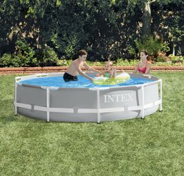 Brand New Intex 26700EH 10ft x 30in Prism Metal Frame Above Ground Backyard Swimming Pool (No Filter Pump) for Sale in Manassas Park,  VA