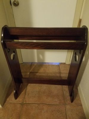 Wood Quilt Rack for Sale in St. Petersburg, FL