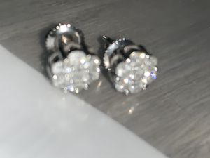 Real diamond earrings $400 super deal for Sale in Los Angeles, CA