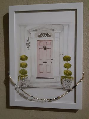 Lion door Wall Decor $20.00 cash only (serious buyers) for Sale in Dallas, TX