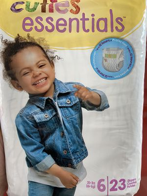 Diapers size 6 special today 9 packs for only 30.00 for Sale in Pomona, CA