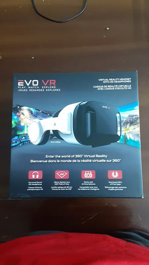 Brand new evo vr can be lower the 30 if you want it for Sale in Plano, TX