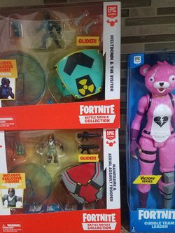 Fortnite Battle Royale Collection & Cuddle Team Leader for Sale in Plainfield,  IL