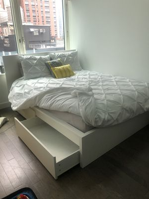 Ikea Bed Frame - Queen for Sale in Brooklyn, NY