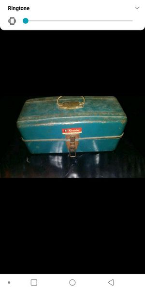 Revelation Antique fishing tackle box for Sale in Long Beach, CA