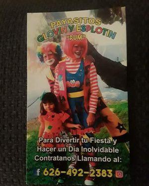 Payasitos Glovin y explotin for Sale in El Monte, CA