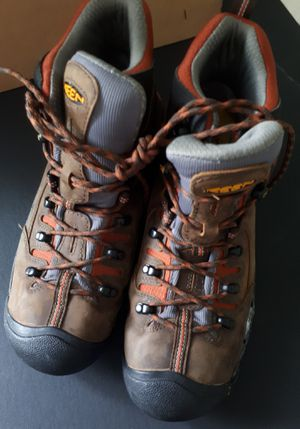 Men's Pittsburgh Soft Toe Work Boot sze 9.5 for Sale in Plano, TX