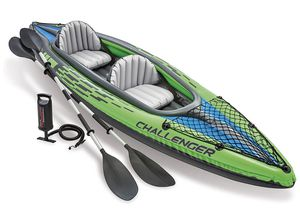 Intex K2 Challenger 2 Person Inflatable Kayak Boat for Sale in Las Vegas, NV