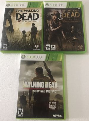 The Walking Dead Xbox 360 Game Bundle for Sale in Reading, PA