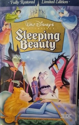 Disney's Sleeping Beauty Masterpiece Collection fully restored Limited Edition, VHS for Sale in Tampa, FL