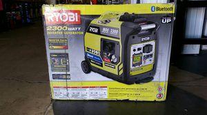 RYOBI Bluetooth 2,300 Starting Watt Super Quiet Gasoline Powered Digital Inverter Generator for Sale in Phoenix, AZ