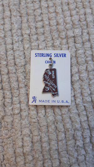 Mississippi Vintage Sterling Silver Charm for Sale in Chandler, AZ