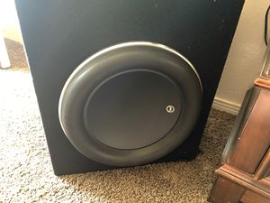 Subwoofers Jl audio w7 13.5 for Sale in Lawndale, CA