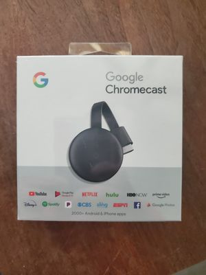 Chromecast by Google for Sale in Spring Hill, FL