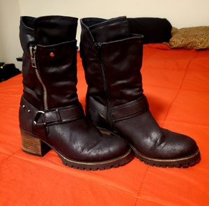 Carlos Santana Georgina Black Boot sz 9 for Sale in Staten Island, NY