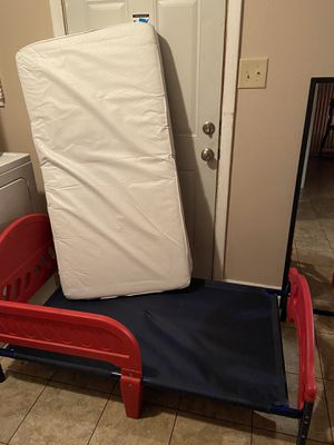 Toddler Bed frame and mattress (not used) for Sale in Indianapolis, IN