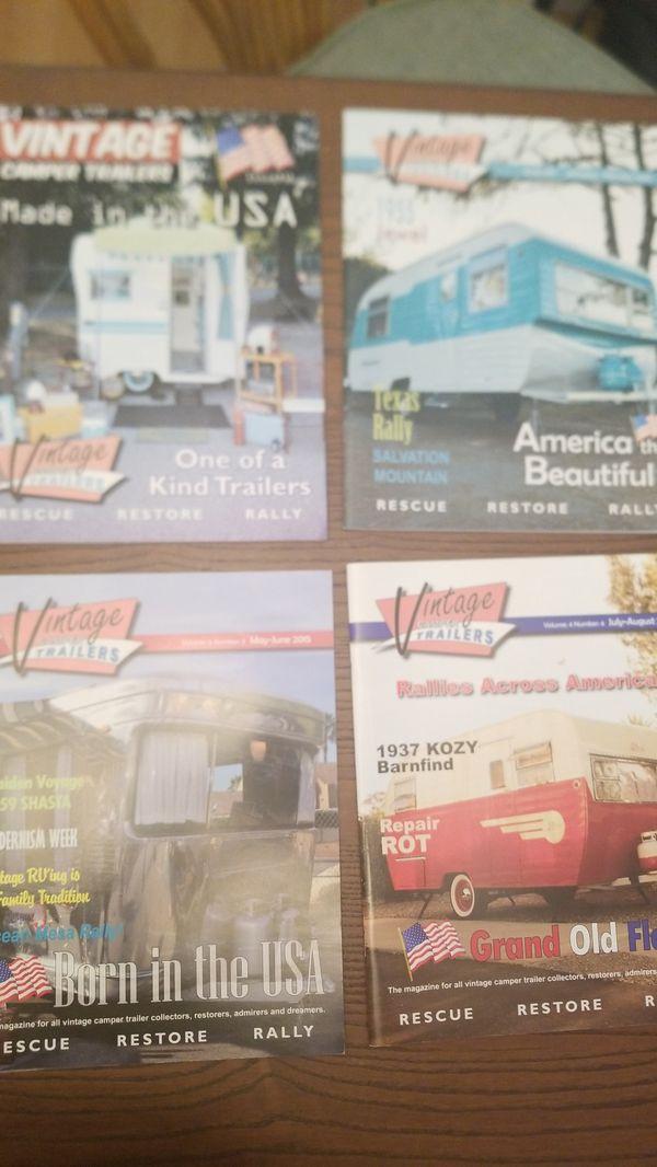 Vintage Camper Trailers Magazines!