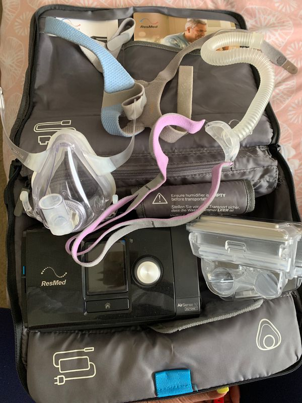 2015 ResMed 10 CPAP machine. Used twice