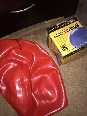 Stability exercise ball with pump for Sale in Pittsburgh, PA