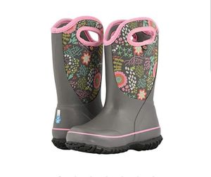 BOGS Slushie Reef kid's insulated Rain Boots. for Sale in Seattle, WA