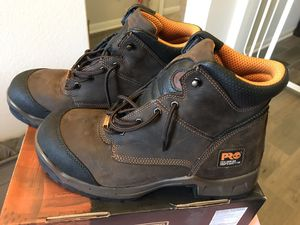 Steel toe work boots 🥾 for Sale in Pflugerville, TX