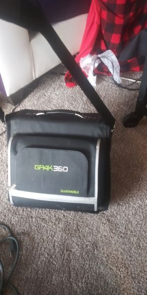 GPak xbox 360 Game console carrying case for Sale in Dallas, TX